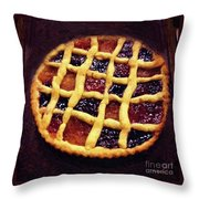 Harlequin Tart Throw Pillow