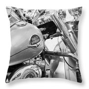 Harley Abstract Throw Pillow