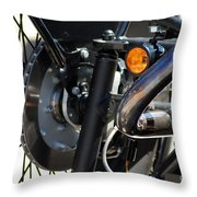 Harley Cycle Throw Pillow