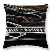 Harley Davidson 1 Throw Pillow