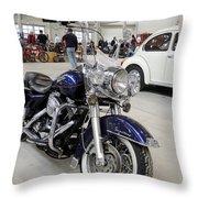 Harley Davidson Detail Throw Pillow