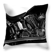 Harley Davidson  Military  Throw Pillow