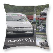 Harley Dftss Throw Pillow