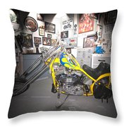 Harley Operating Room Throw Pillow