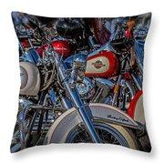 Harley Pair Throw Pillow