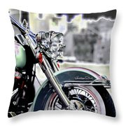Harley Wtc Throw Pillow