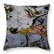 Harmoney Of Shapes And Colors Throw Pillow