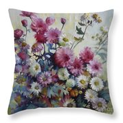 Harmonies Of Autumn Throw Pillow