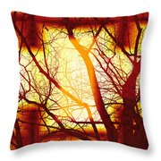 Harmonious Colors - Sunset Throw Pillow