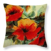 Harmony 3 Throw Pillow