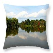 Harmony On The Boyne River Throw Pillow