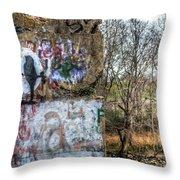 Harms Dam Number 9 Throw Pillow
