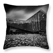 Harpa Throw Pillow