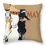 Harper's, 1897 Throw Pillow