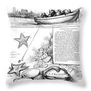 Harper's Weekly, 1881 Throw Pillow
