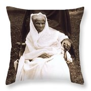 Harriet Tubman Portrait 1911  Throw Pillow