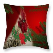 Harry Christmas Wishes Throw Pillow