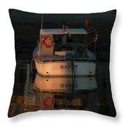 Harry - Lane's Cove Throw Pillow
