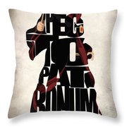Harry Potter - Daniel Jacob Radcliffe Throw Pillow