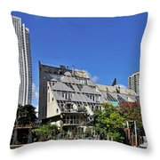 Harry Weese's Chicago River Cottages Throw Pillow