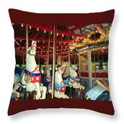 Hartford Carousel Throw Pillow