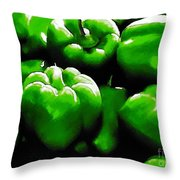 Hartville Peppers Throw Pillow