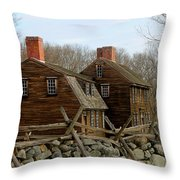 Hartwell Tavern 3 Throw Pillow