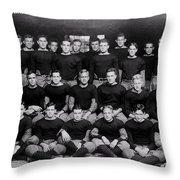Harvard Football 1912 Throw Pillow