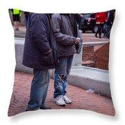Harvard Watchers Throw Pillow