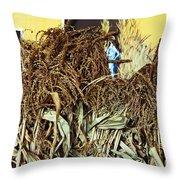 Harvest Art Throw Pillow