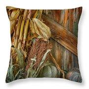 Harvest Corner Throw Pillow