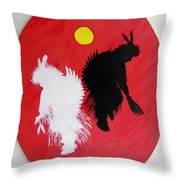 Harvest Dance Throw Pillow