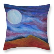 Harvest Moon 1 Throw Pillow