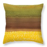 Harvest Original Painting Throw Pillow