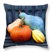 Harvest Rustic Throw Pillow