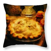 Harvest Table Throw Pillow
