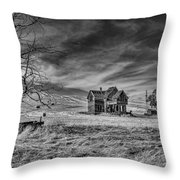 Harvest Time At Emerson Throw Pillow