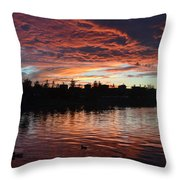 Harveston Sunset Throw Pillow