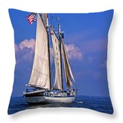 Harvey Gamage Throw Pillow