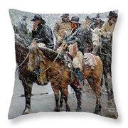 Hashknife Pony Express Throw Pillow