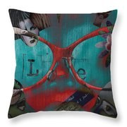 Hassel At Bay  Throw Pillow