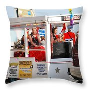 Hastings Carnival Queen Throw Pillow