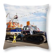 Hastings Lifeboat Throw Pillow