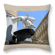 Hat Trick Throw Pillow