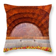 Hatch Memorial Shell Throw Pillow by Susan Cole Kelly