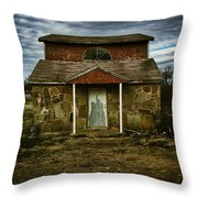 Hatching House Throw Pillow