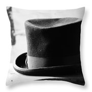 Hats Off Insults Throw Pillow
