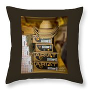 Hats Or Boots Throw Pillow