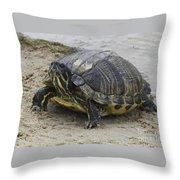 Hatteras Turtle 2 Throw Pillow