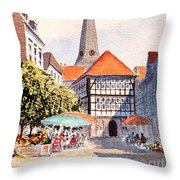 Hattingen Germany Throw Pillow
